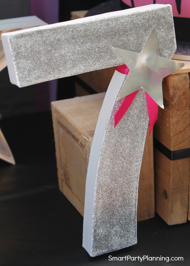 Paper Mache Number 7