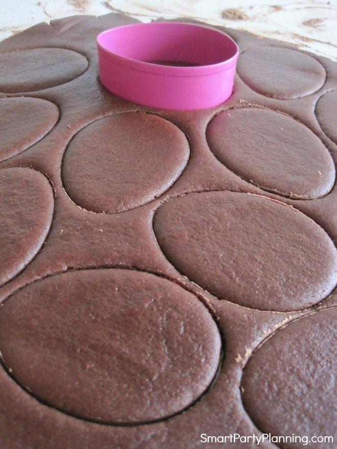 Chocolate Egg Cookies
