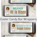 Easter Candy Bar Wrappers