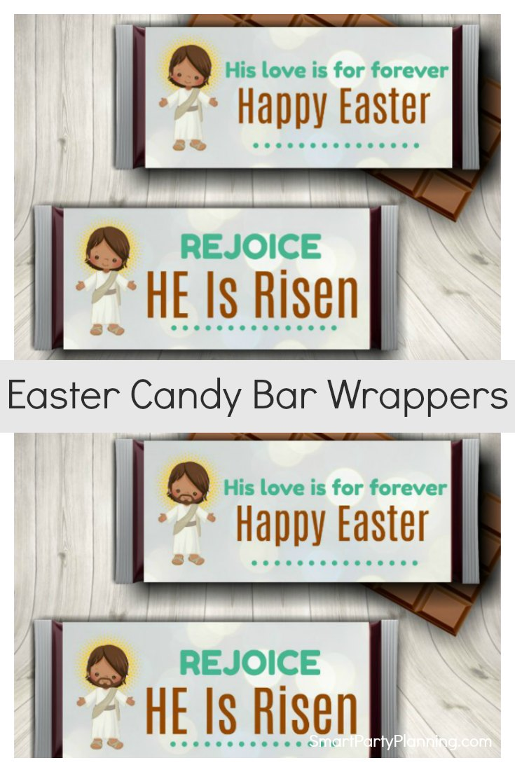 Religious Easter Candy Bar Wrappers