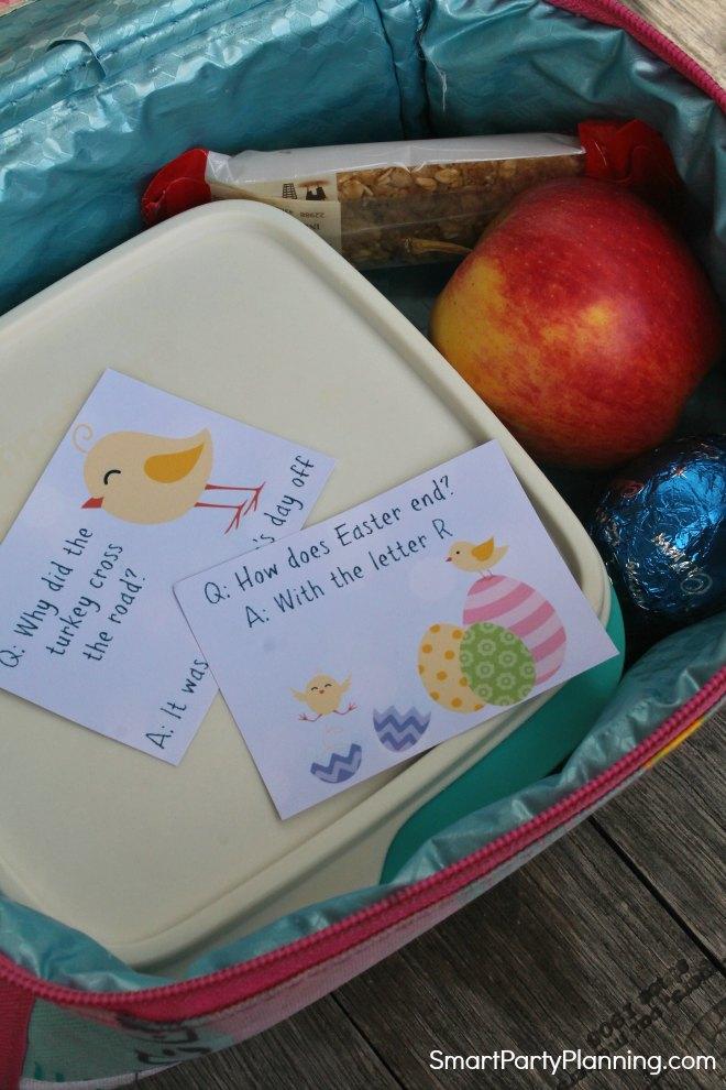 Easter lunch box jokes for kids