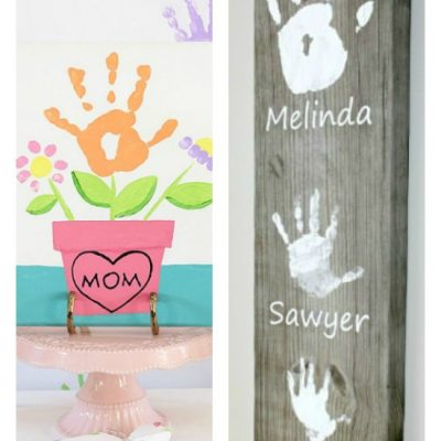 10 of The Best Handprint Crafts For Mothers Day