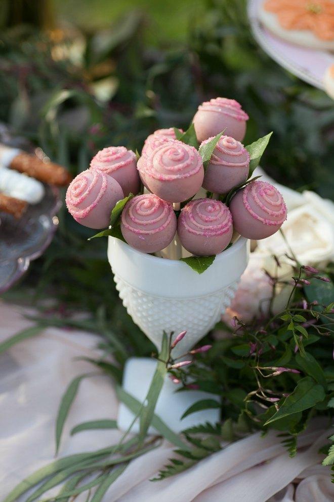 Mothers day brunch Pink desserts