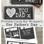Printable Fathers Day Candy Bar Wrappers