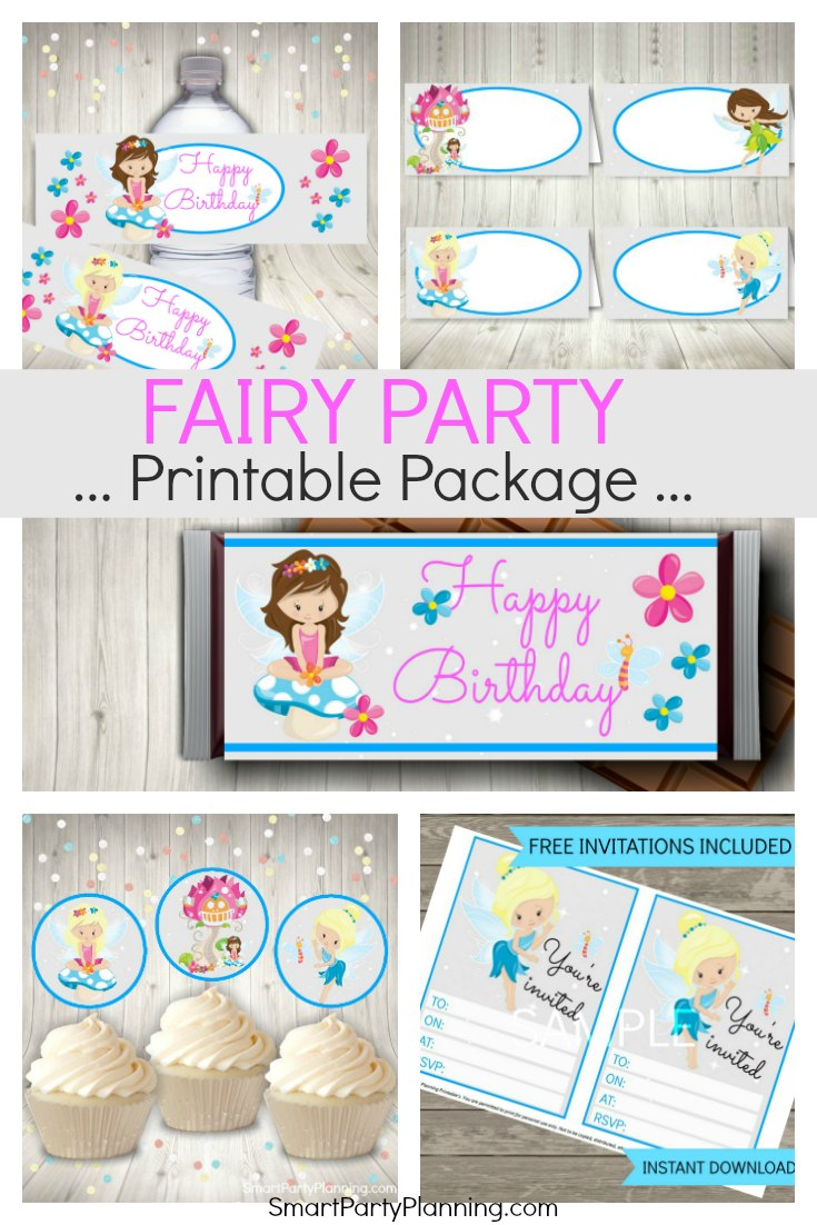 Fairy Printables Party Package