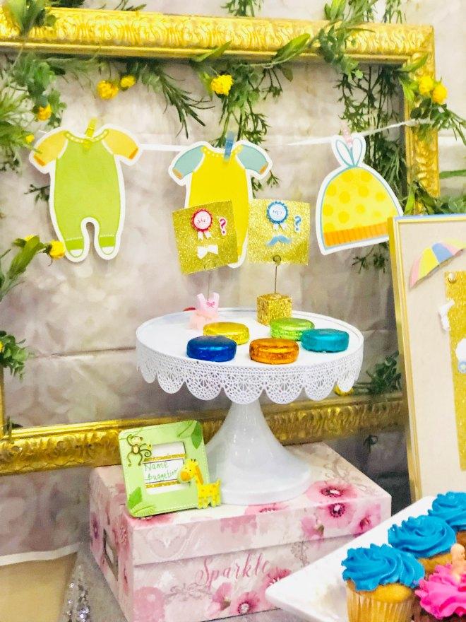 display of sweet treats