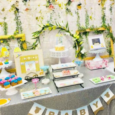 Earthy But Elegant Floral Baby Shower That Will Delight Mom To Be