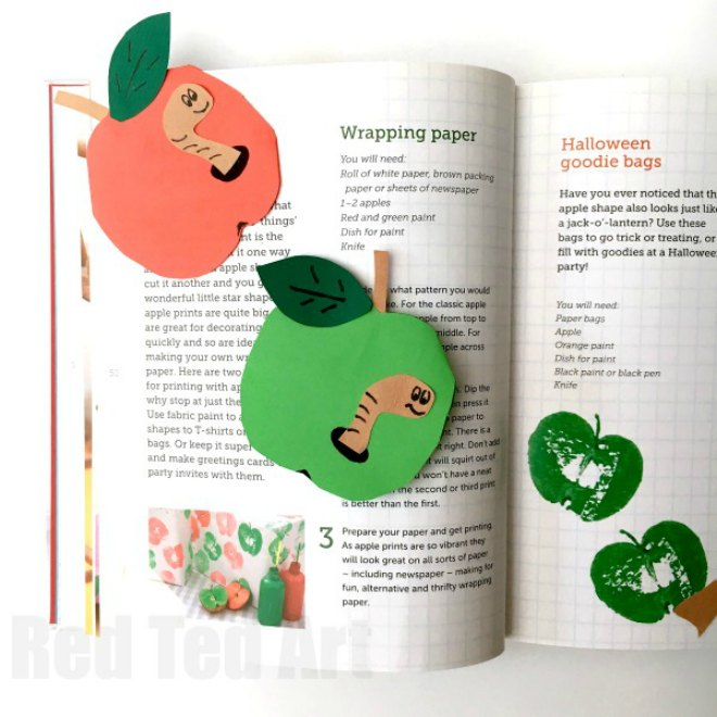 Apple Bookmark