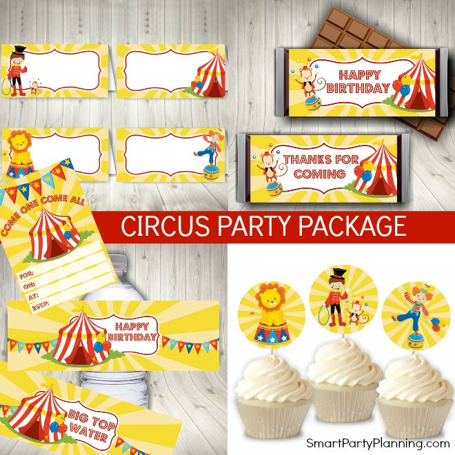 Circus Birthday Party Package