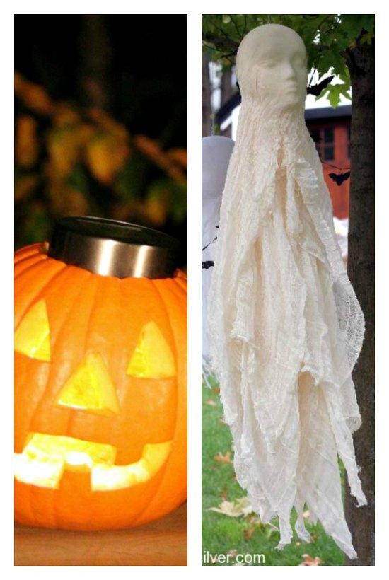 Easy Outdoor Halloween Decorations