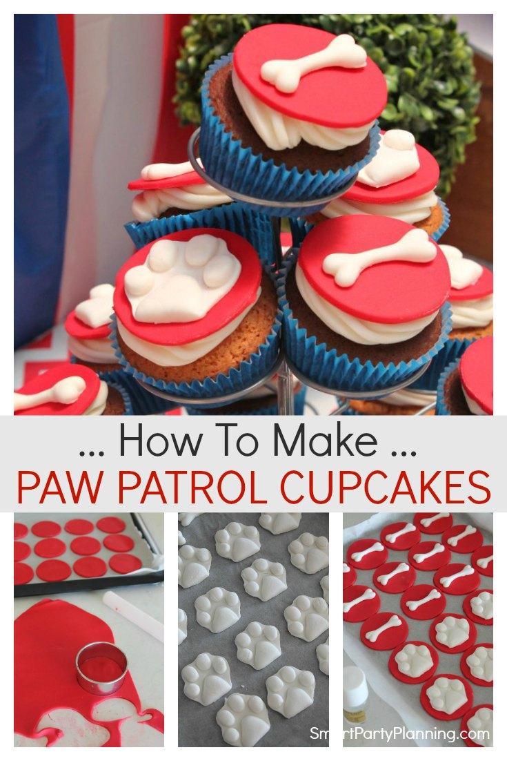 How to make Paw Patrol Cupcakes
