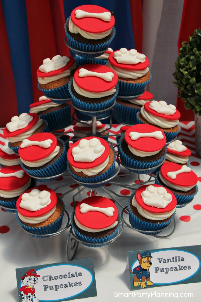 Paw Patrol Cupcakes Stand