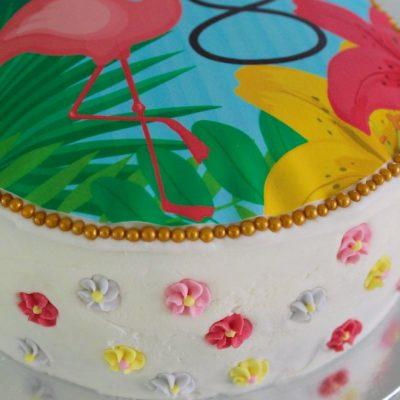How To Make A Flamingo Birthday Cake The Easy Way