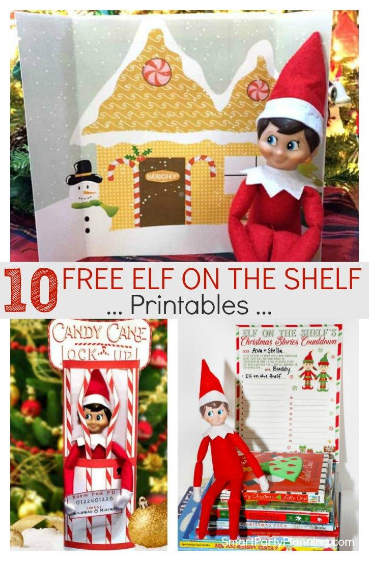 Free Elf on the Shelf Printables