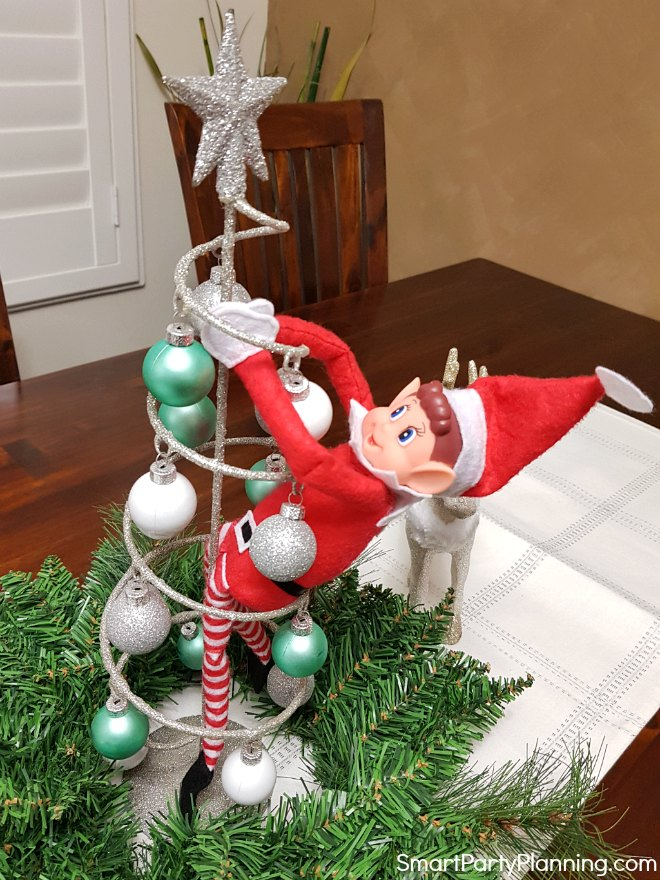 elf in a Christmas decoration