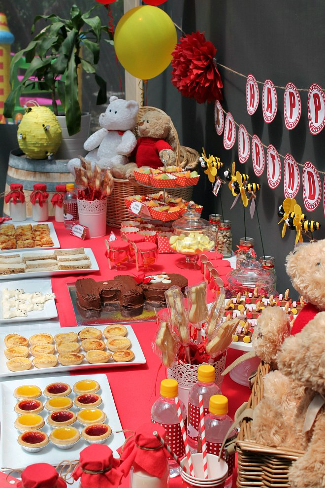 Teddy Bears Picnic Party Table