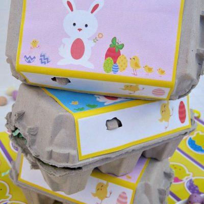 Egg Carton Easter Printables The Kids Will Love