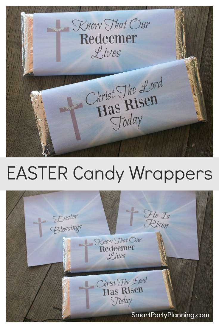 Easter Candy Wrappers