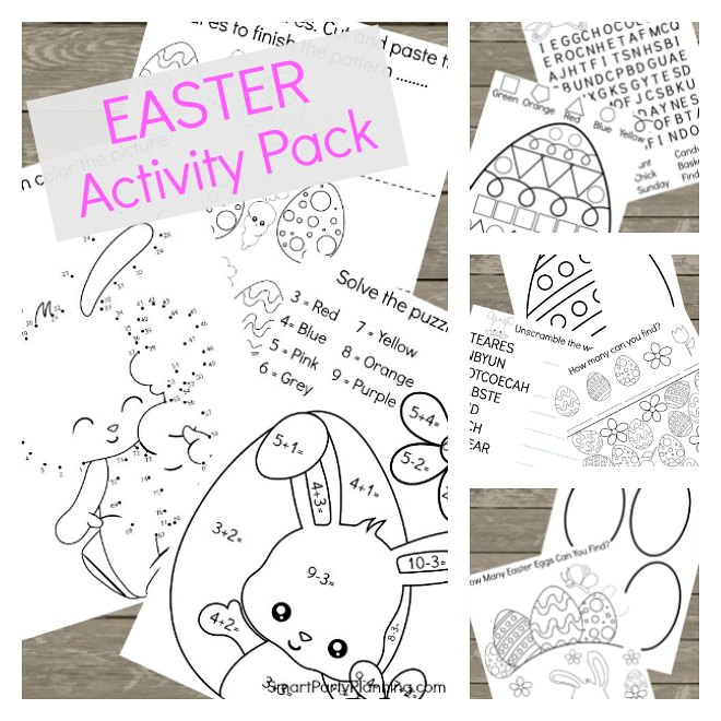 Easter Printable Activity Pack