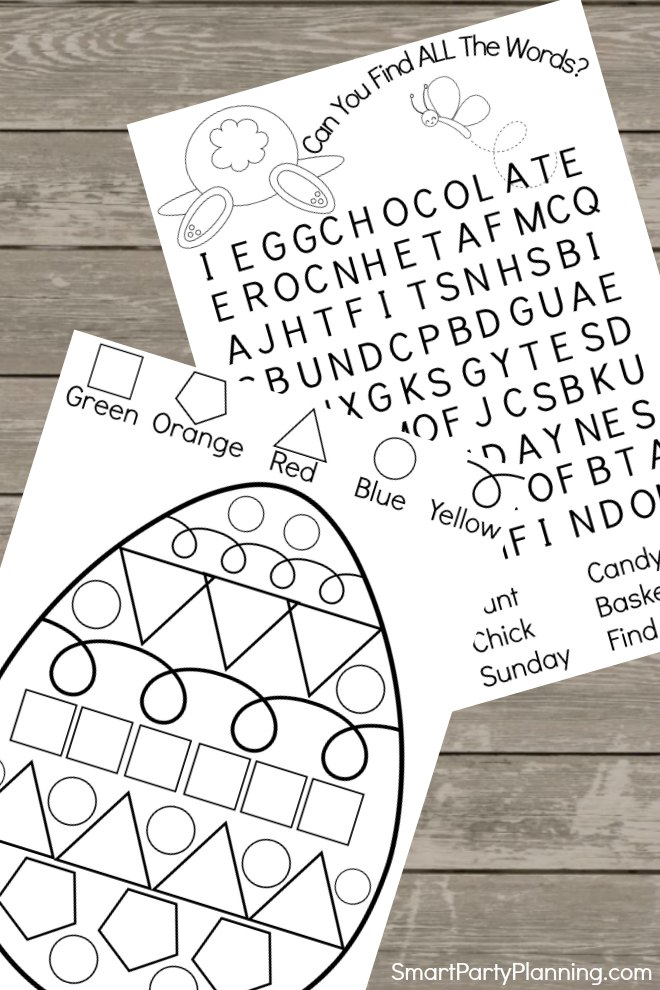 Printable Easter Activity Pack