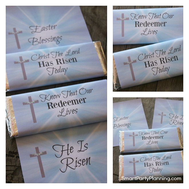 Religious Easter Candy Wrappers