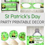 St Patricks Day Party Printable Decor