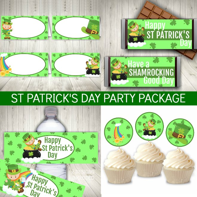 St Patricks Day Party Printables