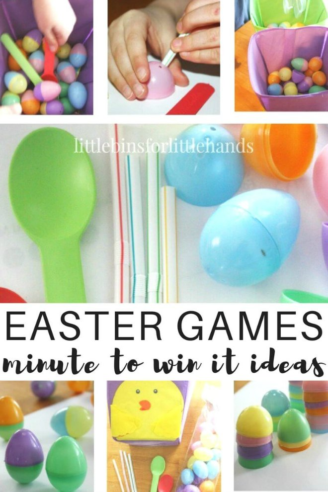 Easter minute to win it games