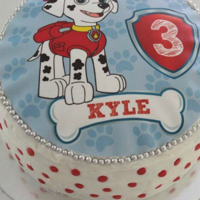 How To Make An Easy Marshall Paw Patrol Cake