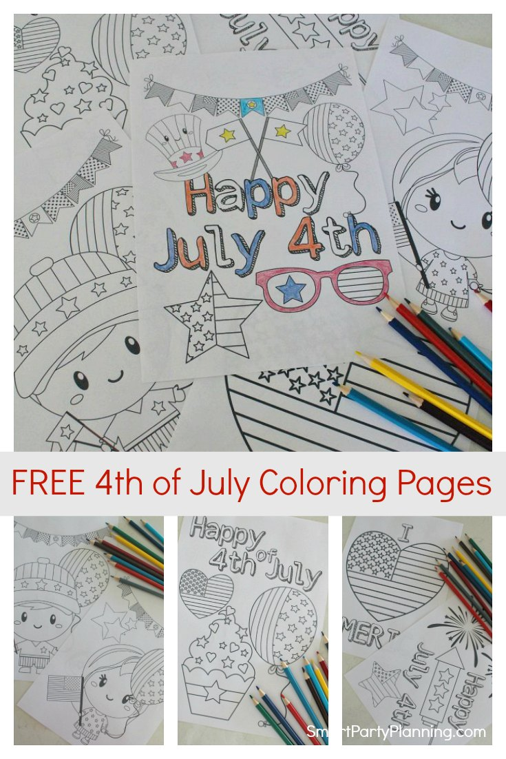 Free 4th of July Coloring Pages