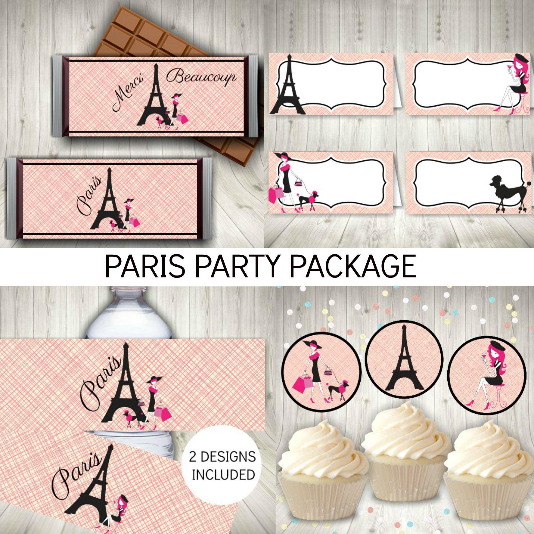 Paris Party Package