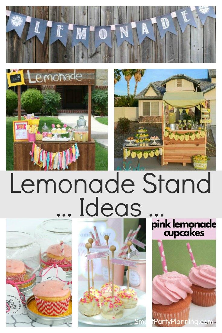 DIY Lemonade Stand Ideas