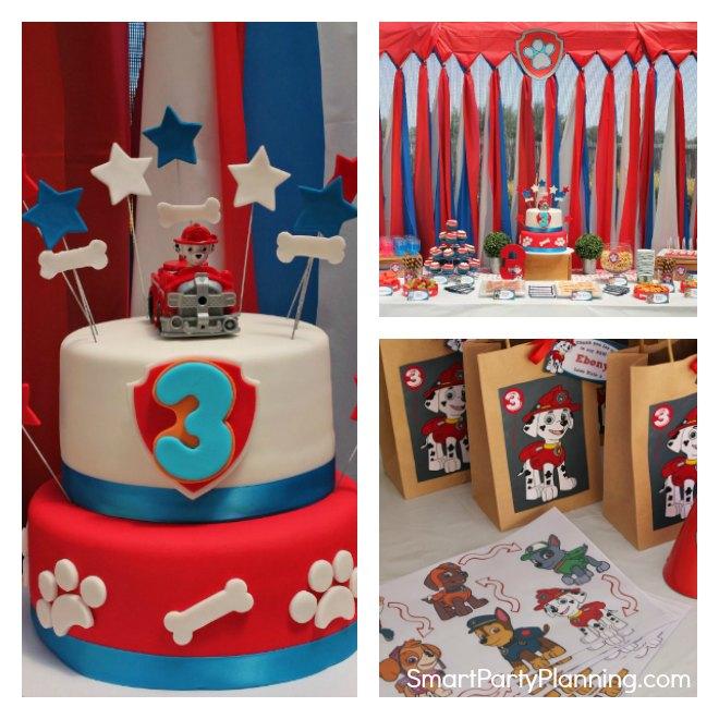 Fun Paw Patrol Birthday Party