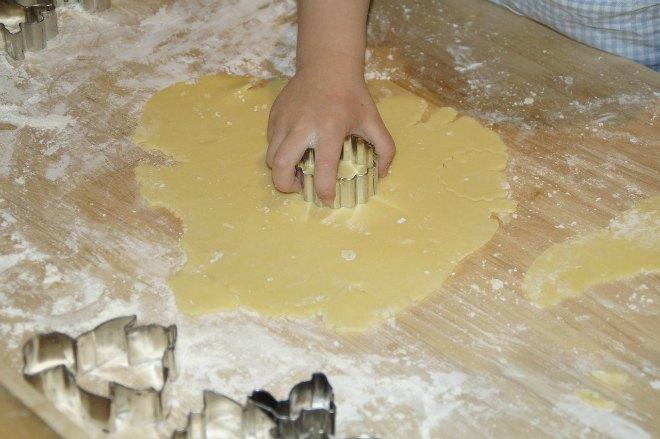 Girls baking party