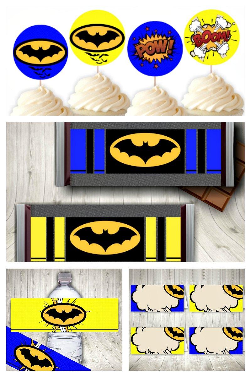 Batman Party Printable Set