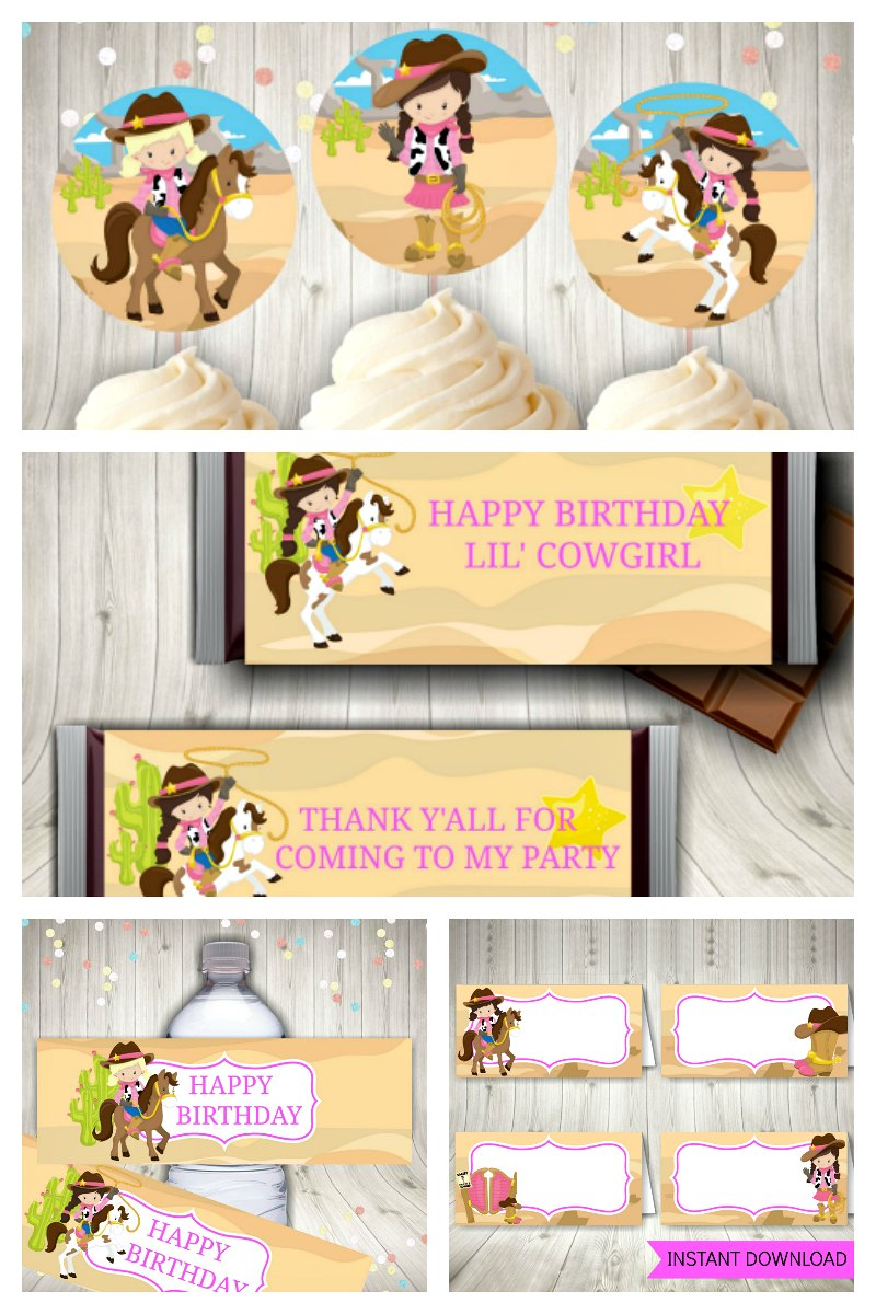 Cowgirl Party Package