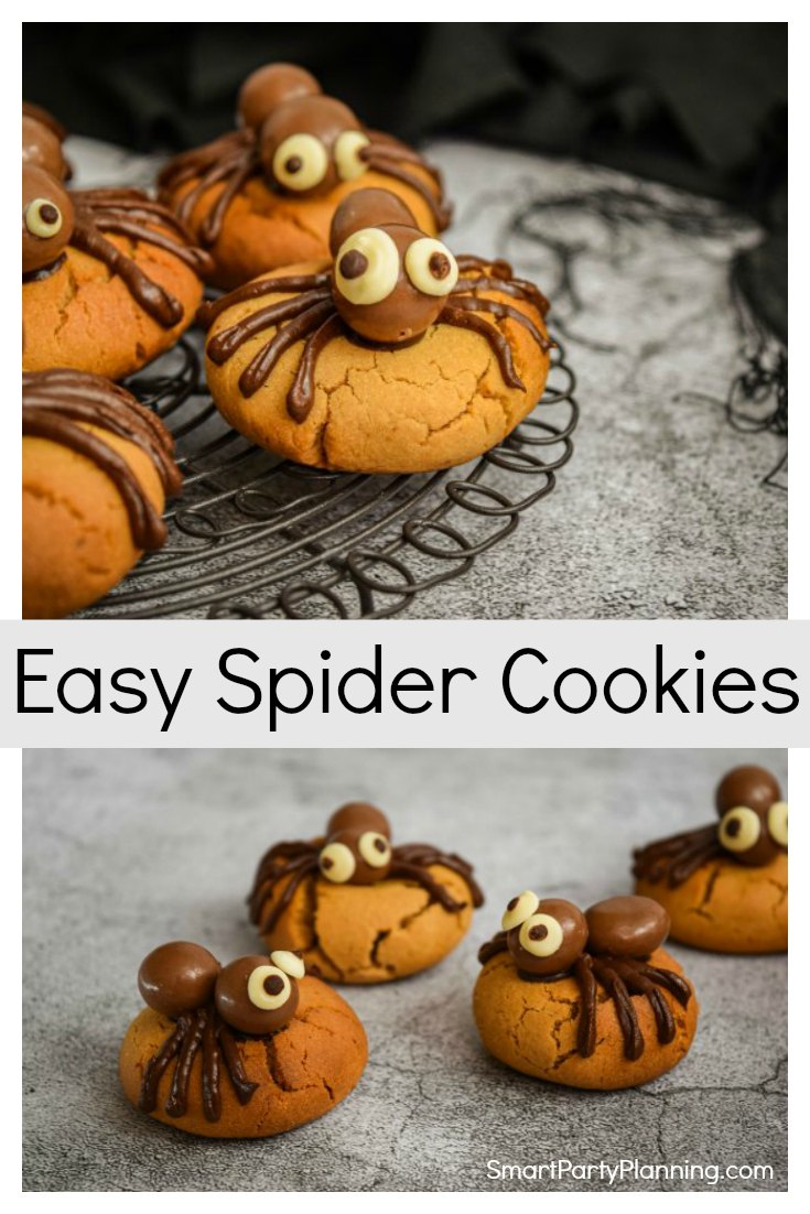 How to make easy spider cookies