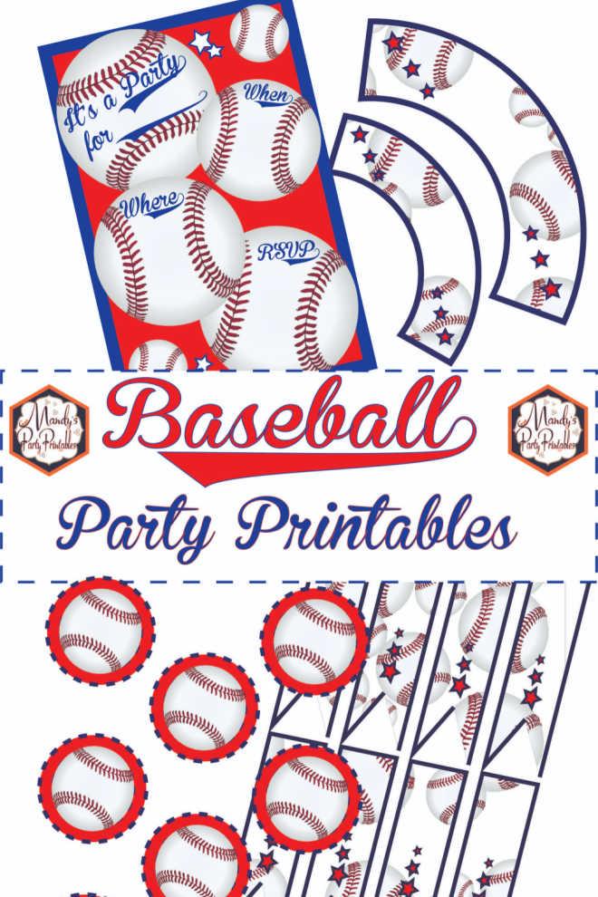 Baseball Party Printables