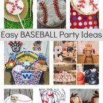 Easy Baseball Party Ideas