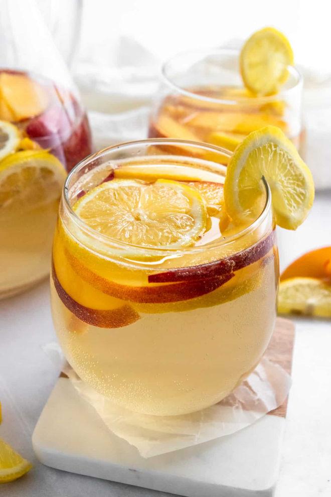Peach-White-Sangria