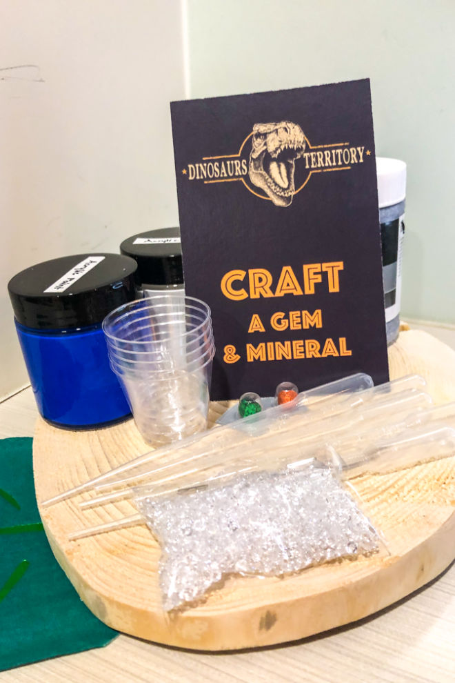 Craft, gem and mineral activity