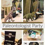 Paleontologist Birthday Party