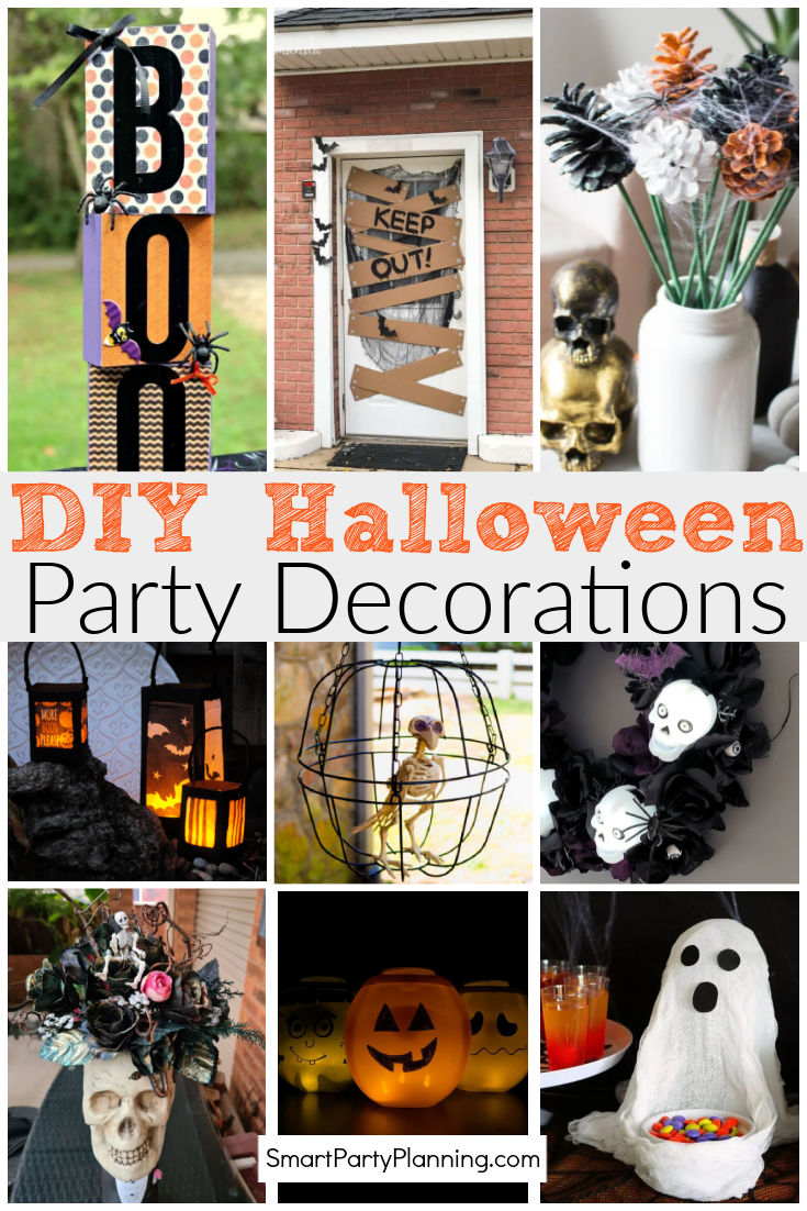 DIY Halloween Party Decorations