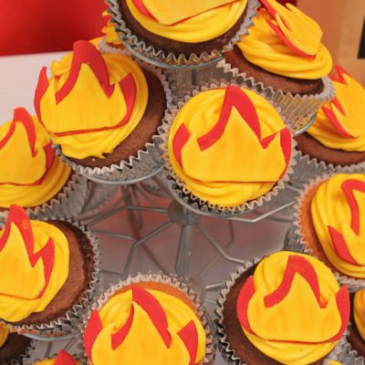 How To Easily Make The Best Fire Cupcakes