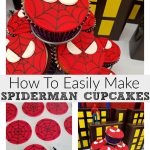 How To Easily Make Spiderman Cupcakes