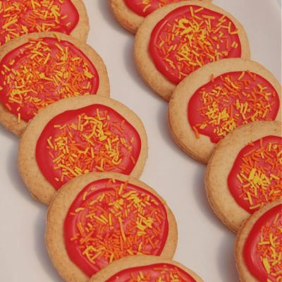 How To Make Vibrant Flame Cookies The Easy Way