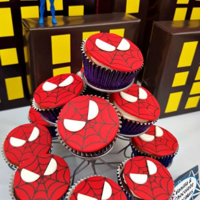 How To Make Easy Spiderman Cupcakes Like A Professional