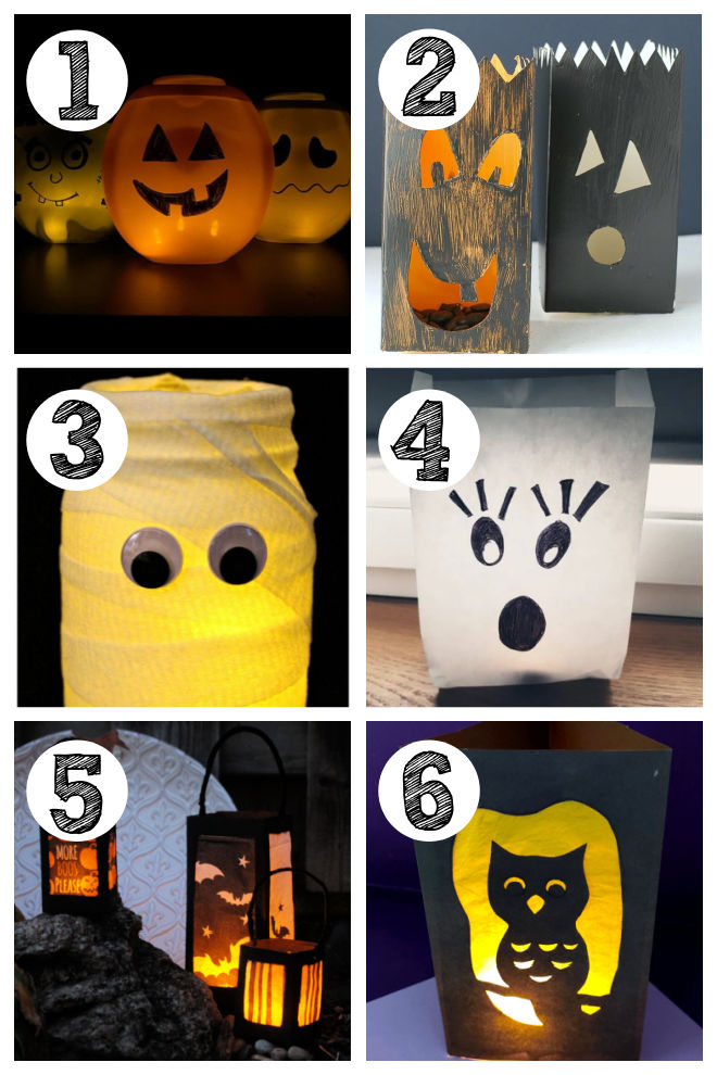 Lantern Halloween Party Decorations