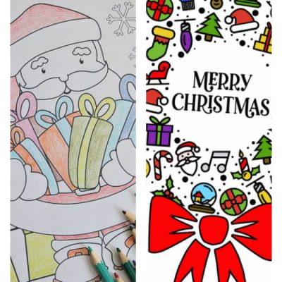 12 Of The Best Free Christmas Coloring Pages For Kids