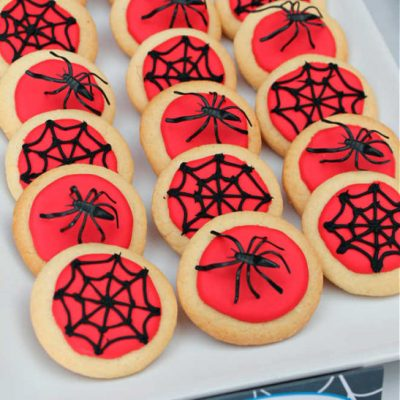 How To Easily Make The Best Spiderman Cookies For Kids